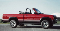 Convertible Tops & Accessories:1989 thru 1991 Dodge Dakota Pickup