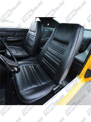 Seat Covers:1970 Ford Mustang (Convertible, Coupe, and Sportsroof) Standard Upholstery