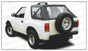 Convertible Tops & Accessories:1988 thru 1994 Isuzu Amigo & Rodeo Sport