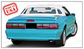 Convertible Tops & Accessories:1989 and 1990 McLaren (ASC Conversion)