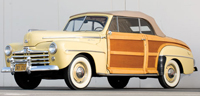 Convertible Tops & Accessories:1946 thru 1948 Mercury Sportsman Convertible (Woody) & Mercury 76