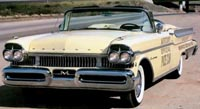 Convertible Tops & Accessories:1957 and 1958 Mercury Montclair, Monterey & Turnpike Crusier