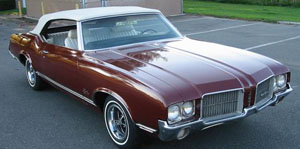 Rubber Weather Seals:1969 thru 1972 Oldsmobile 442, Cutlass & Cutlass Supreme Convertible