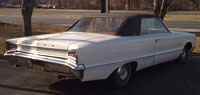 Convertible Tops & Accessories:1965 and 1966 Dodge Custom 880, Monaco & Polara (C Body)