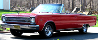 Rubber Weather Seals:1966 Plymouth Belvedere II & Satellite (B Body) Convertible