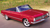Rubber Weather Seals:1963 and 1964 Plymouth Valiant & Valiant Signet (A Body) Convertible