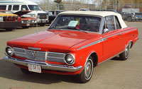 Convertible Tops & Accessories:1965 thru 1966 Plymouth Signet & Valiant (A Body)