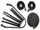 Convertible Tops & Accessories:1966 thru 1967 Chevy Chevelle, Malibu & SS:Weather Seal GM A Body Chevelle Malibu 66 & 67 10 Piece Seal Kit