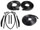 Convertible Tops & Accessories:1961 thru 1964 Chevy Impala & Impala SS:Weather Seal GM B Body 61 & 62 10 Piece Seal Kit