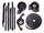 Convertible Tops & Accessories:1965 thru 1970 Buick Electra, Electra 225:Weather Seal GM C & E Body 69 thru 70 10 Piece Seal Kit