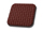 Seat Covers:1965 thru 1967 Volkswagen Beetle Sedan and Convertible:Vinyl VW Basketweave Red 07