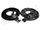 Convertible Tops & Accessories:1966 thru 1967 Chevy Chevelle, Malibu & SS:Weather Seal GM Body 66-67 Molded Door Seals-2 pieces LM 12 J