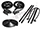 Rubber Weatherstrips:1971 thru 1976 Chevy Caprice & Impala Convertible:Weather Seal GM Body 71-76 8 Piece Seal Kit RKB 2007-115
