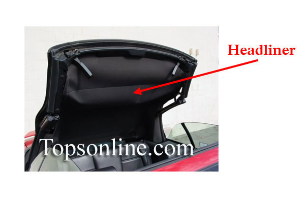 Convertible Tops Headliners Convertible Top Parts And