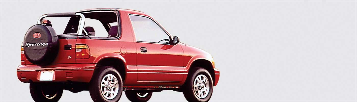 1996 thru 2002 kia sportage convertible tops and. Black Bedroom Furniture Sets. Home Design Ideas