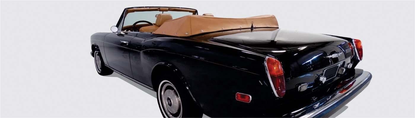 Rolls Royce Convertible Tops And Accessories Topsonline