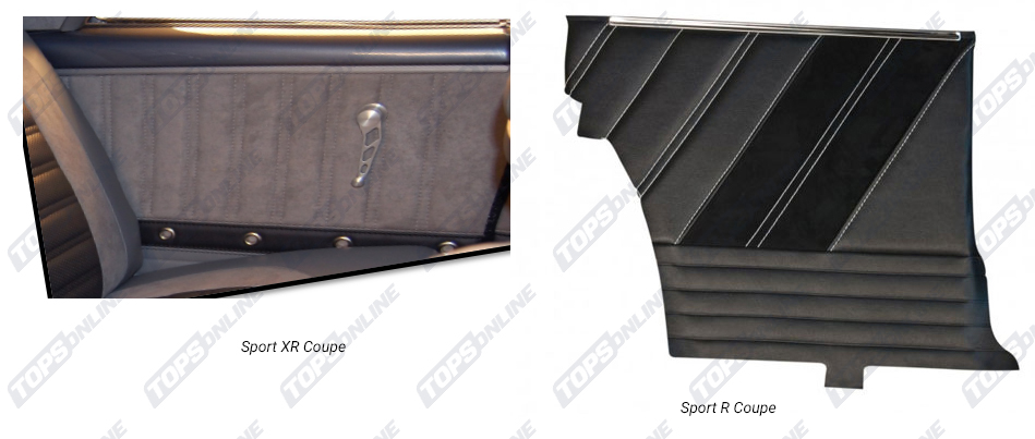 Door Panels:1964-1965 Chevy Chevelle Coupe Only