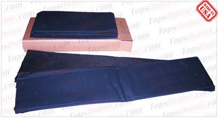 Convertible Tops & Accessories:1967 and 1968 Chrysler Imperial & Imperial Crown (C Body)