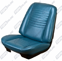 Seat Covers:1967 Chevy Chevelle Coupe Only