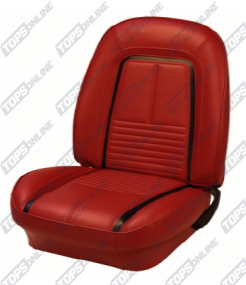 Seat Covers:1967 Chevy Camaro Convertible Only