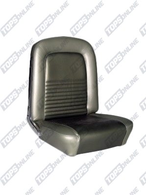 Seat Covers:1967 Ford Mustang (Convertible, Coupe, and Fastback) Standard Upholstery
