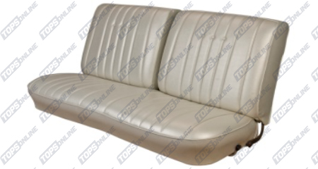 Seat Covers:1968 Chevy Chevelle Coupe Only