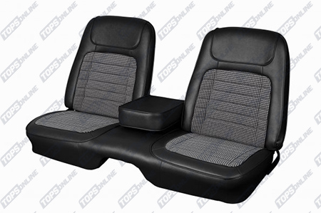 Seat Covers:1968 Chevy Camaro Coupe Only