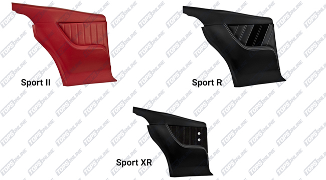 Door Panels:1968 Chevy Camaro Coupe Only