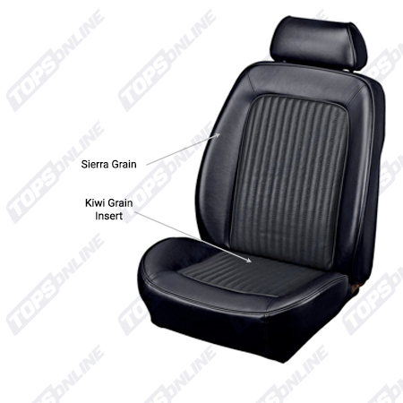 Seat Covers:1968 Ford Mustang (Convertible, Coupe, and Fastback) Standard Upholstery