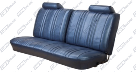 Seat Covers:1969 Chevy Chevelle Coupe Only