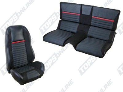 Seat Covers:1970 Ford Mustang Mach 1 and Shelby (Convertible, Coupe, and Sportsroof)