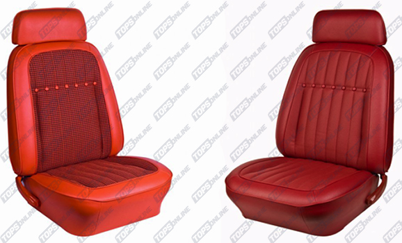Seat Covers:1969 Chevy Camaro Convertible Only