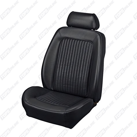 Seat Covers:1969 Ford Mustang (Convertible, Coupe, and Sportsroof) Standard Upholstery
