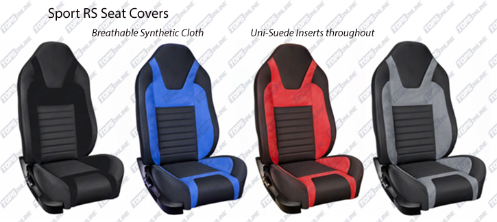 Seat Covers:Sport Seat Kits 2005 thru 2010 (With Airbag) Mustang