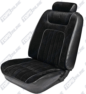Seat Covers:1979 thru 1980 Ford Mustang (Coupe and Hatchback)