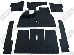 Carpet Kits:1956 thru 1957 VW Beetle Convertible