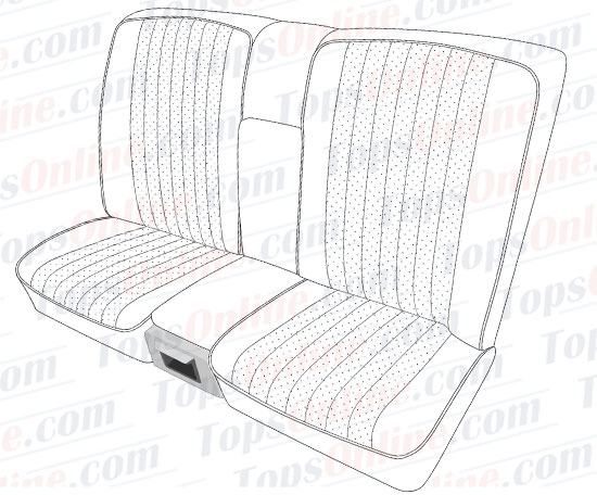 Seat Covers:1980 thru 1985 Mercedes 230C, 230CE, 280C, 280CE & 300CD 2 Door Coupe (C123 Chassis)
