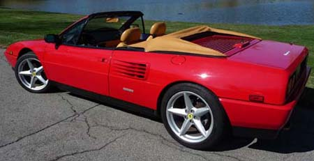 1984 thru 1994 ferrari mondial convertible tops and accessories. Black Bedroom Furniture Sets. Home Design Ideas