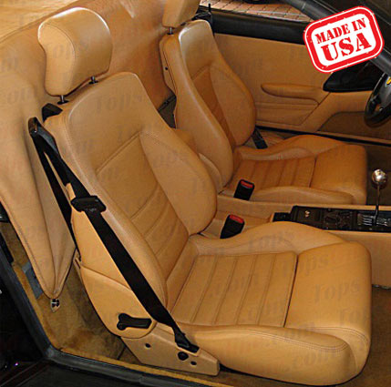 Seat Covers:1993 thru 1999 Ferrari 348, 355 & F355 Convertible Spider