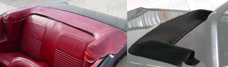 Convertible Tops & Accessories:1967 thru 1968 Ford Mustang, Mustang GT & Shelby