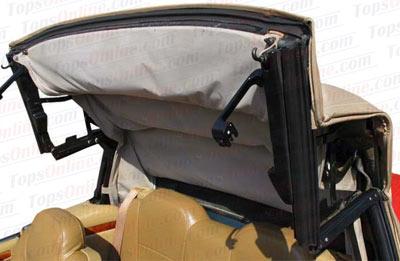 Convertible Tops & Accessories:1989 thru 1996 Jaguar XJS
