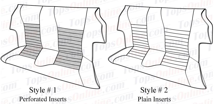 Seat Covers:1975 thru 1988 Jaguar XJS