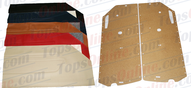 Seat Covers:1972 thru 1980 Mercedes 450SL, 350SL & 280SL Convertible (Chassis W107)