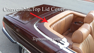 Convertible Tops & Accessories:1972 thru 1989 Mercedes 280SL, 300SL, 350SL, 380SL, 420SL, 450SL, 500SL & 560SL (Chassis W107)