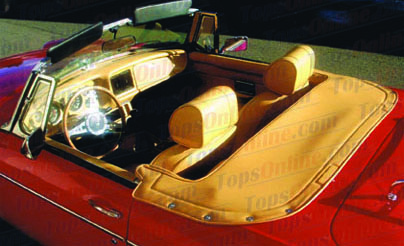 Convertible Tops & Accessories:1971 thru 1980 MGB MK II, MK III & MK IV Roadster