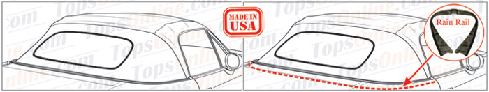 Convertible Tops & Accessories:1998 thru 2005 Mazda Miata MX5 & MX5 Eunos