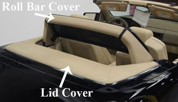 Seat Covers:1990 thru 1995 Mercedes 300SL, 500SL, 600SL, SL280, SL320, SL500 & SL600 (R129 Chassis)