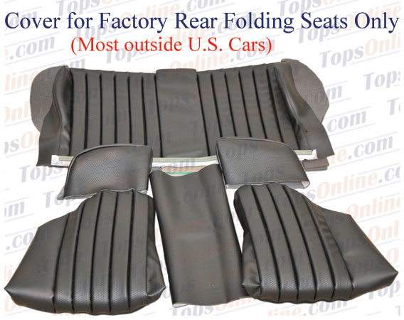 Seat Covers:1980 thru 1985 Mercedes 450SL, 380SL, 280SL & 500SL Convertible (R107 Chassis)