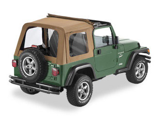 Convertible Tops & Accessories:1997 thru 2002 Jeep Wrangler