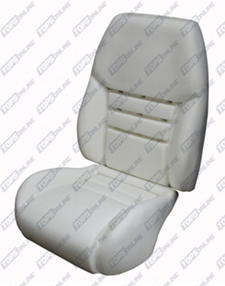 Seat Covers:1994 thru 1996 Ford Mustang GT (Convertible and Coupe)